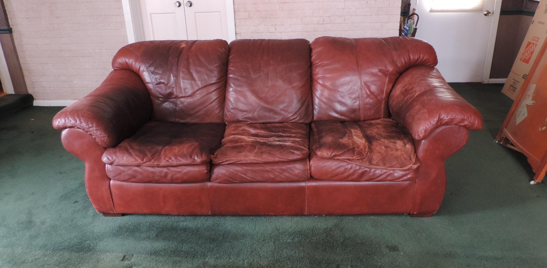 Leather Sofa Ebth
