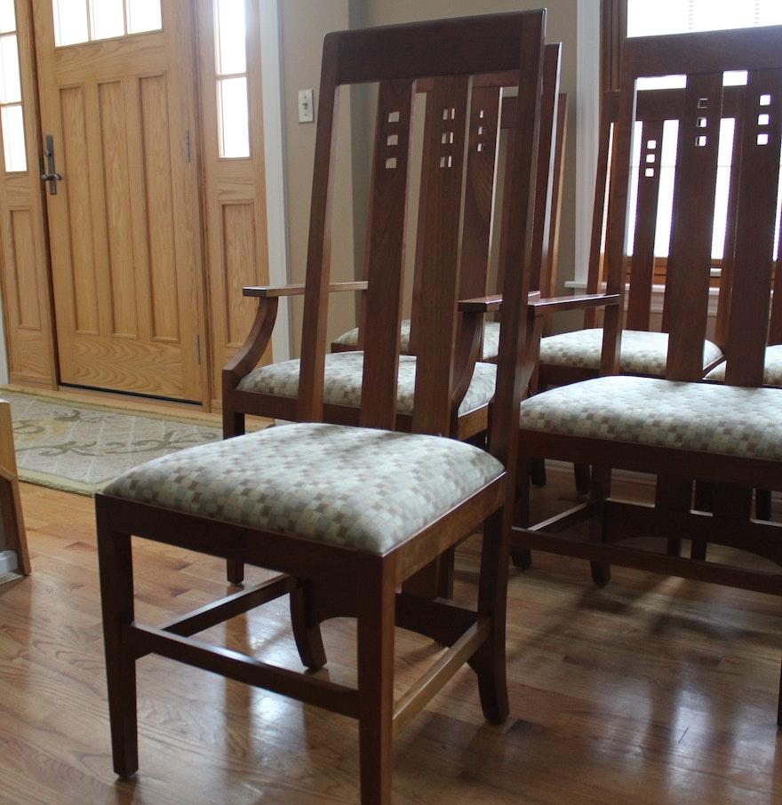 stickley mackintosh dining chairs ebth