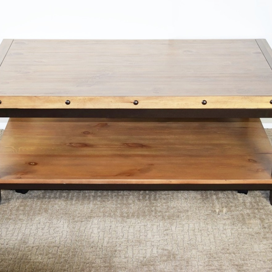 Ingenious Coffee Table That Raises To Dining Height