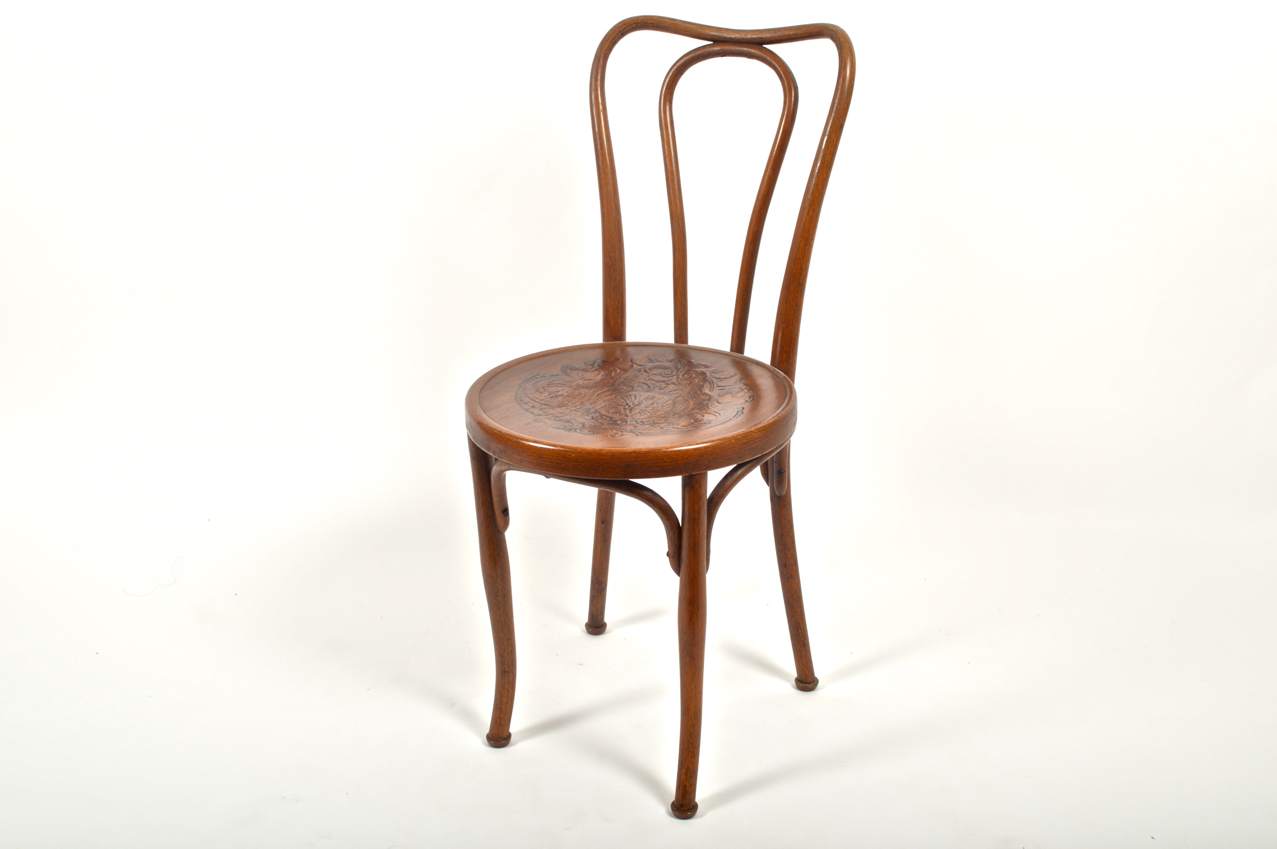 Rare Antique Austrian Jacob U0026 Josef Kohn Bentwood Cafe Chair ...