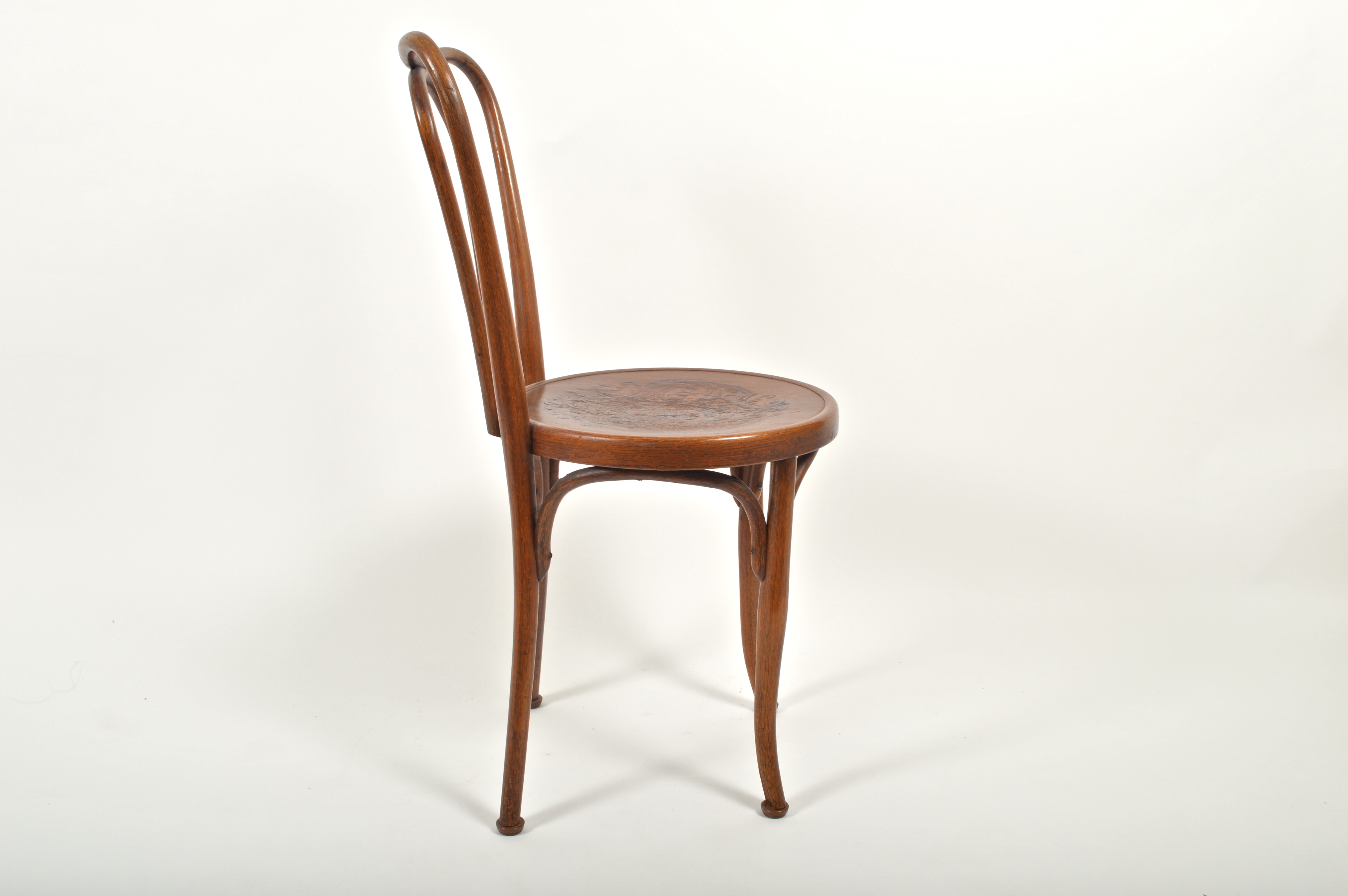 Rare Antique Austrian Jacob u0026 Josef Kohn Bentwood Cafe Chair : EBTH