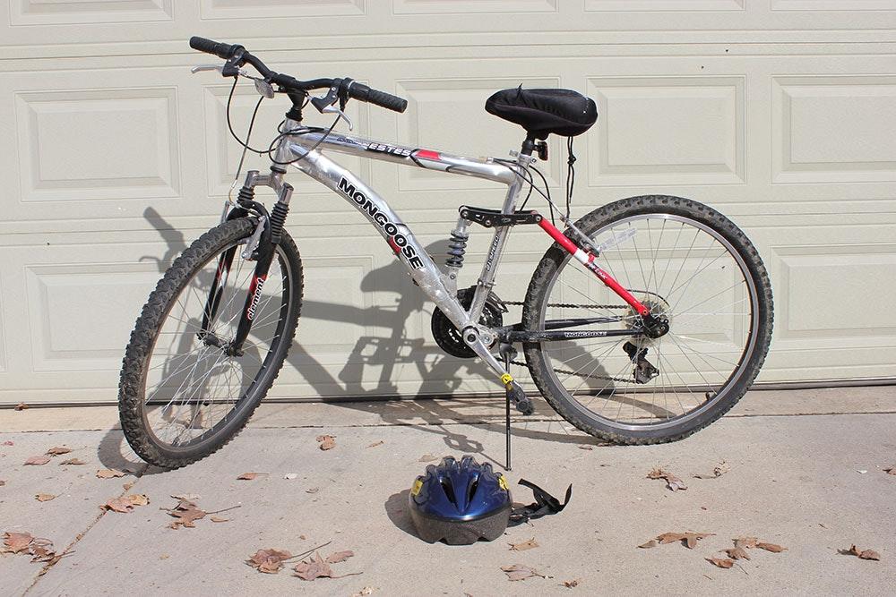 Boy S Mongoose Estes Full Suspension 21 Speed Mountain Bike Ebth