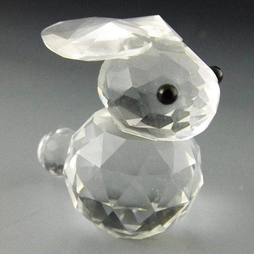 Swarovski Crystal Bunny