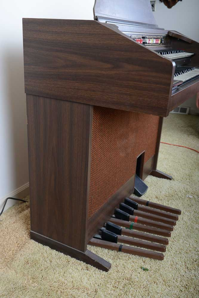 Vintage Thomas Quot Playmate Quot Electric Organ Ebth