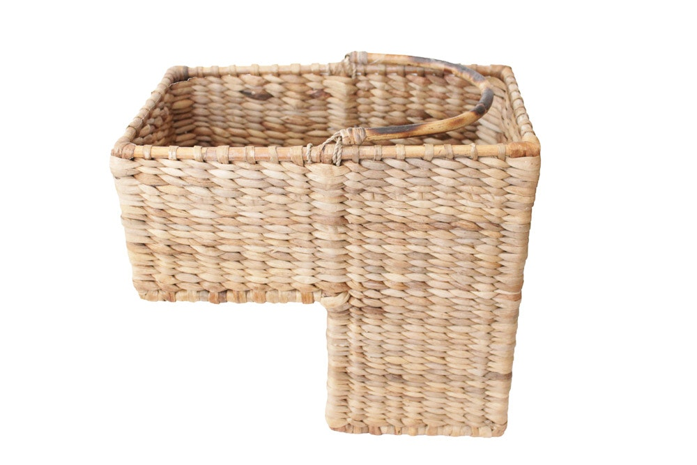 Woven Stair Step Basket ...