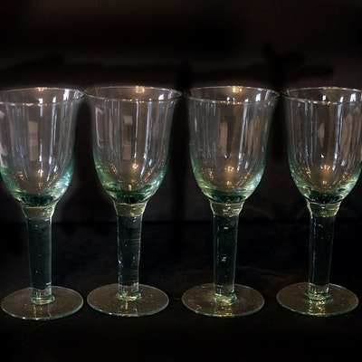 Louisville kentucky personal property sale 15lou019 ebth - Wine glasses with thick stems ...