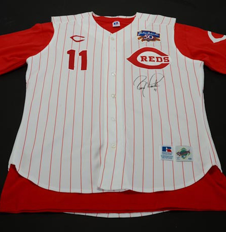 2f50850fd 11 barry larkin jersey ky