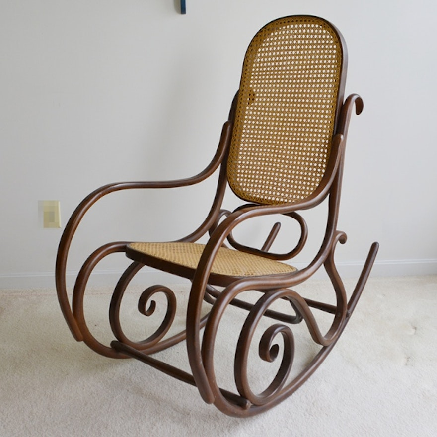 cheap for discount 2e1fd 15dbf Reproduction Thonet Bentwood Rocking Chair