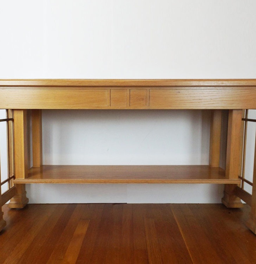Thomasville american revival console table ebth thomasville american revival console table geotapseo Gallery