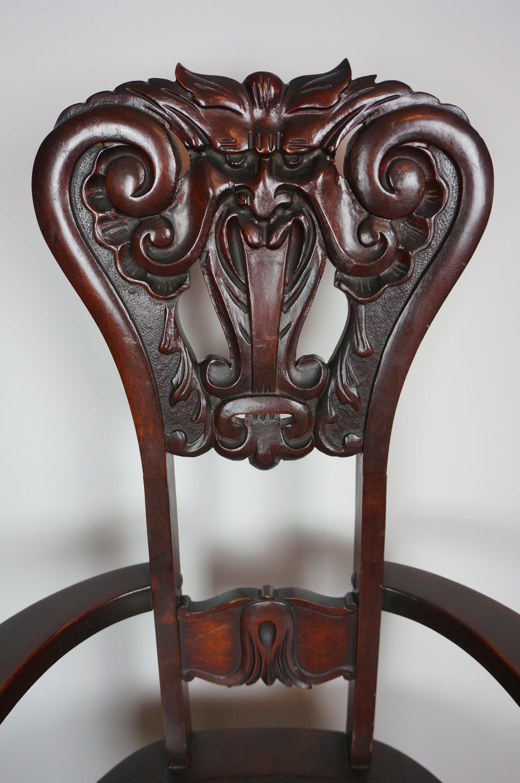 Antique North Wind Chair Ebth