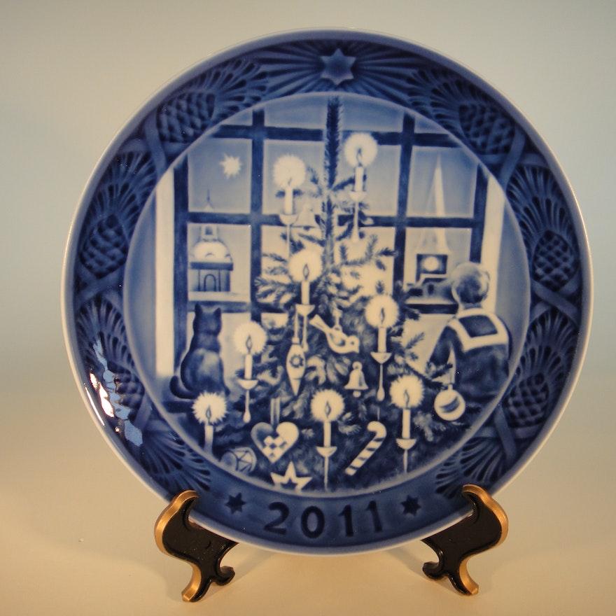 2011 royal copenhagen christmas plate - Royal Copenhagen Christmas Plates