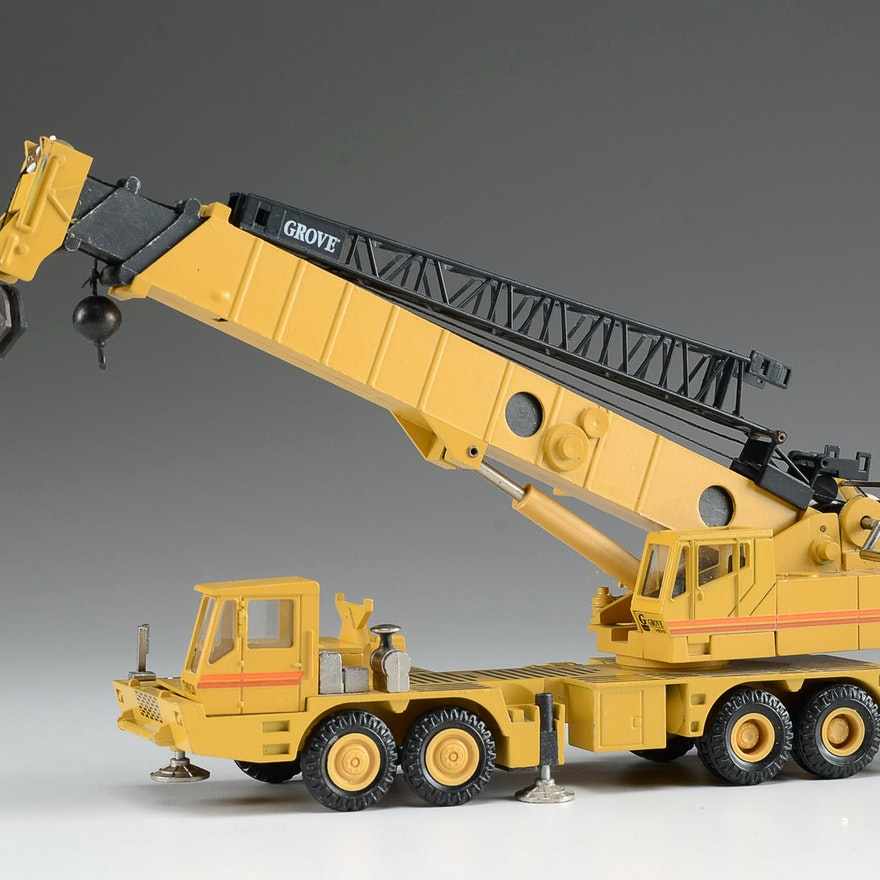 Model Carrier Mounted Hydraulic Crane EBTH