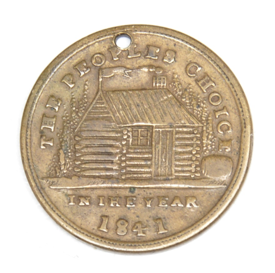 william henry harrison coin