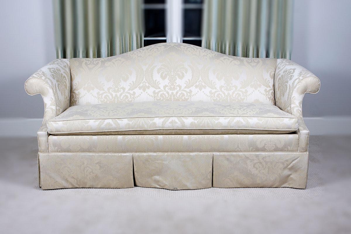 Ethan Allen Camelback Sofa ...