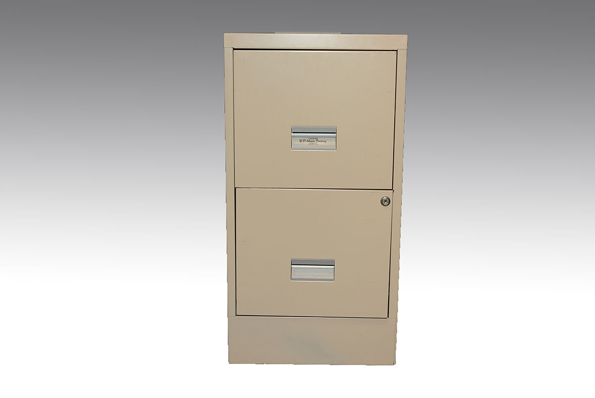 WP Johnson 2 Drawer File Cabinet : EBTH