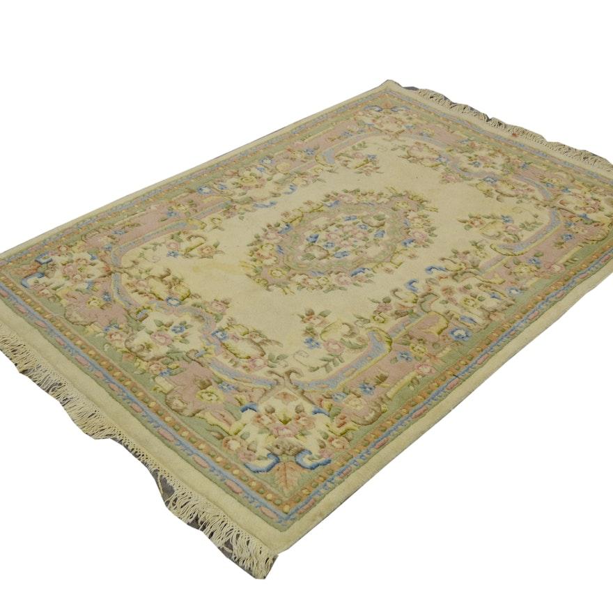 Persian Style Wool Area Rug Ebth: Ethan Allen Oriental Style Wool Rug : EBTH