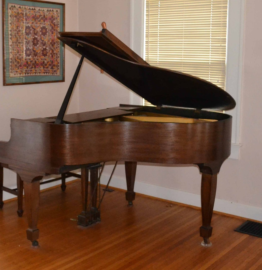Vintage Baby Grand Piano By Premier Grand Piano Corp Ebth
