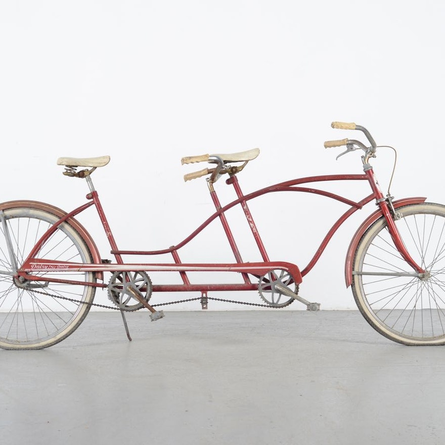 Vintage Huffy Daisy Tandem Bicycle