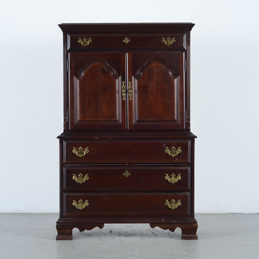 Sumter Cherry Bedroom Armoire : EBTH
