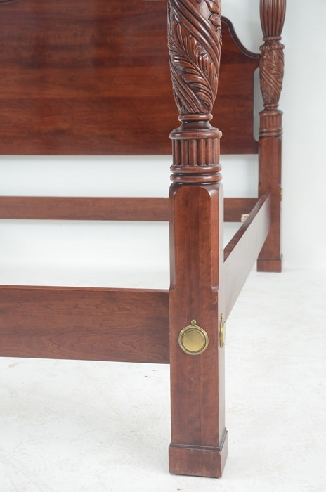 Knob Creek Cherry Four Poster King Bed
