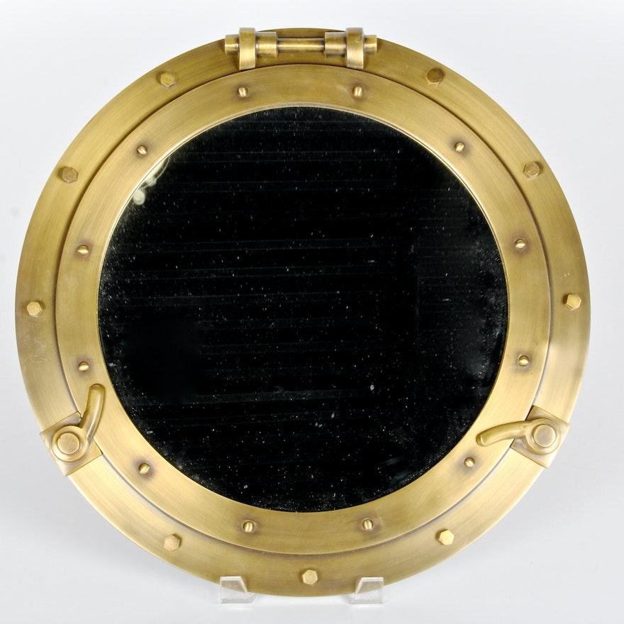 Restoration Hardware Porthole Mirror