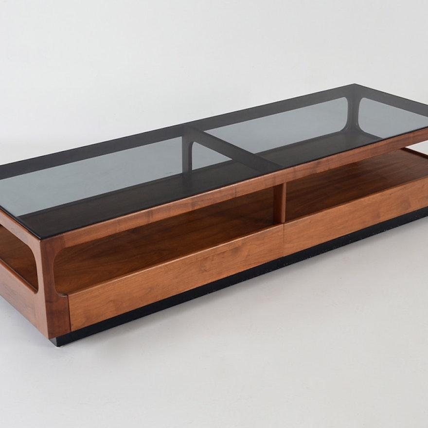 John Keal For Brown Saltman Danish Modern Coffee Table