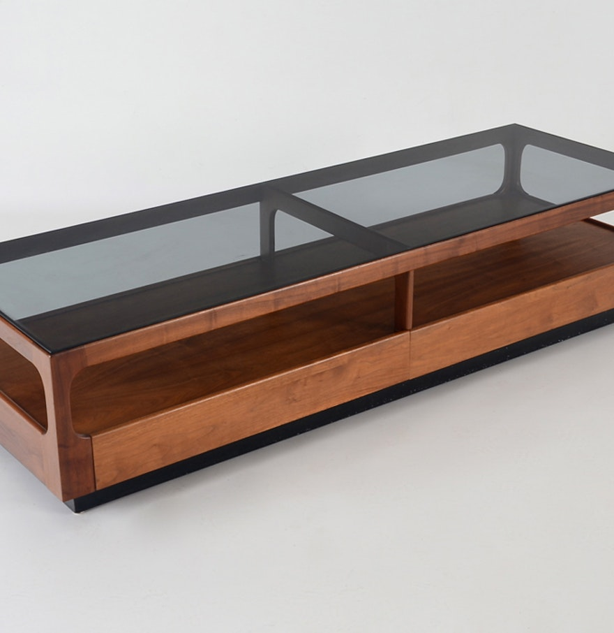 Mid Century Coffee Table John Keal For Brown Saltman At: John Keal For Brown Saltman Danish Modern Coffee Table : EBTH