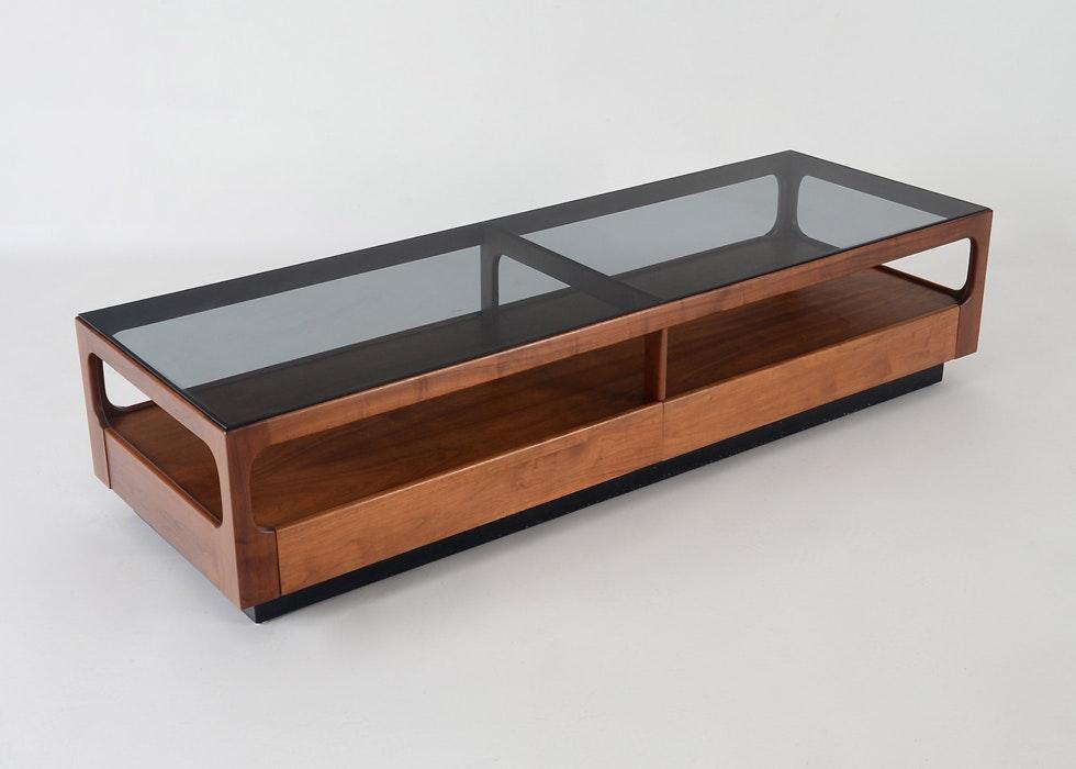 John Keal For Brown Saltman Danish Modern Coffee Table ...