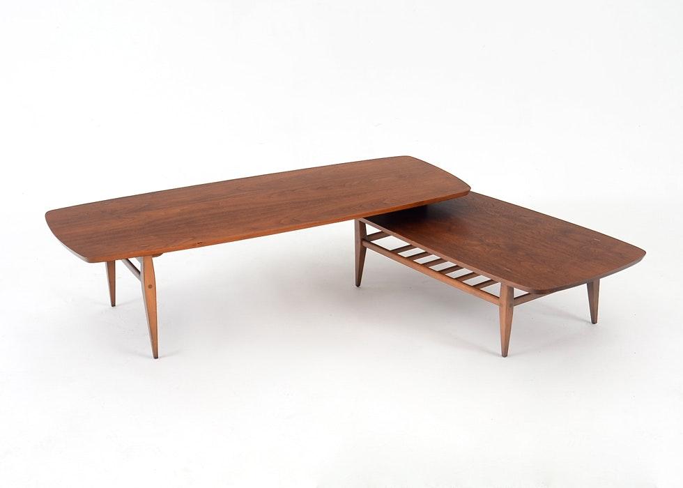 Mid-Century Lane Swivel Base Coffee Table