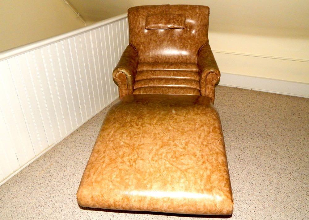 Vintage Contour Chair-Lounge Co. Electric Recliner ... & Vintage Contour Chair-Lounge Co. Electric Recliner : EBTH islam-shia.org