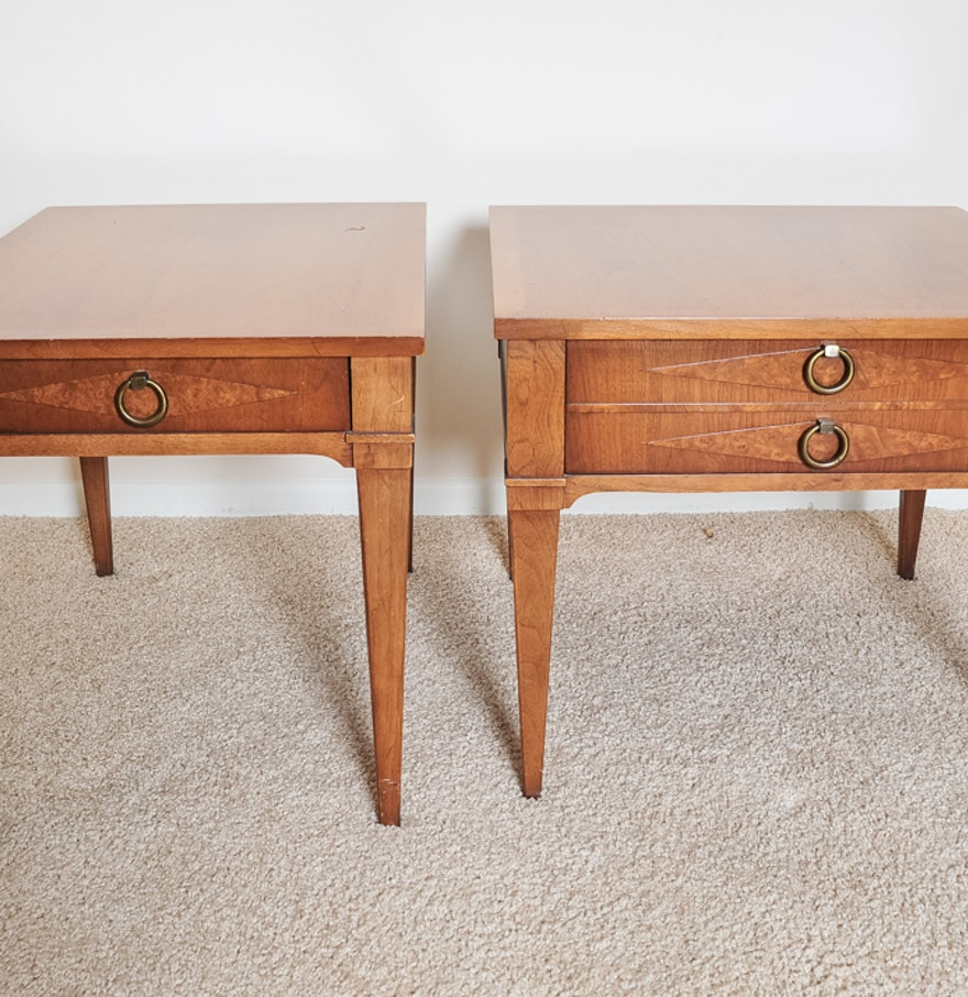 100 drexel end table vintage drexel heritage table etsy
