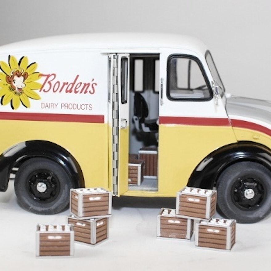 1950 Borden's Divco Milk Truck 1:24 Scale Metal Model