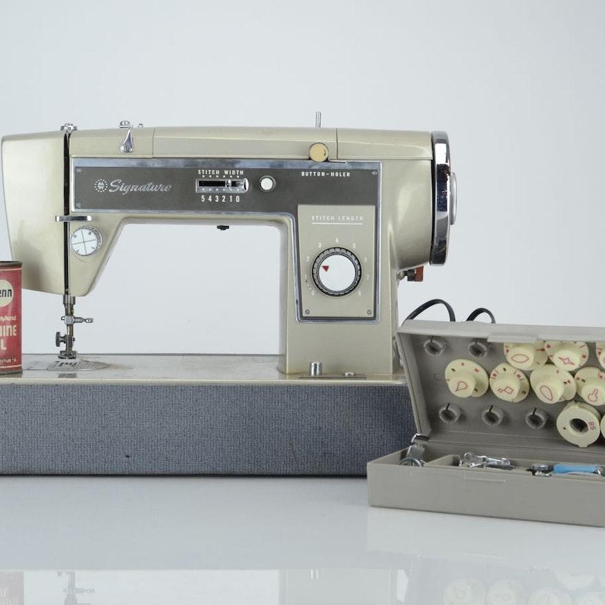Signature Sewing Machine EBTH New Signature Sewing Machine
