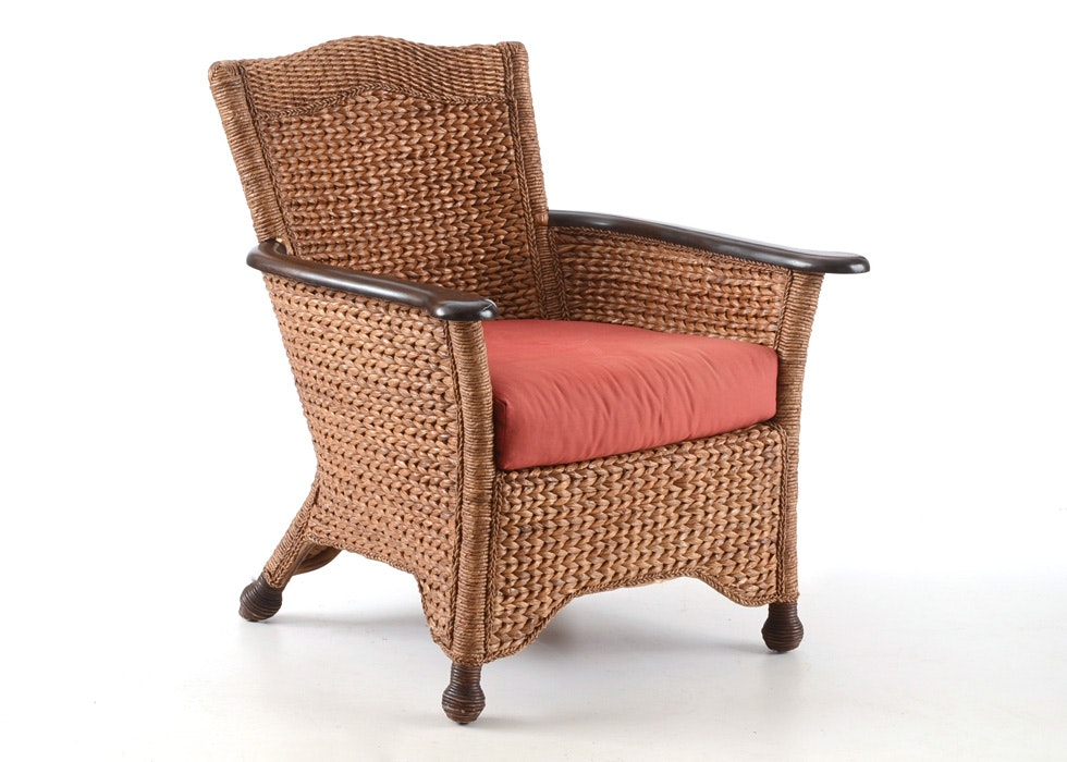 Pier 1 Wicker Chair ...