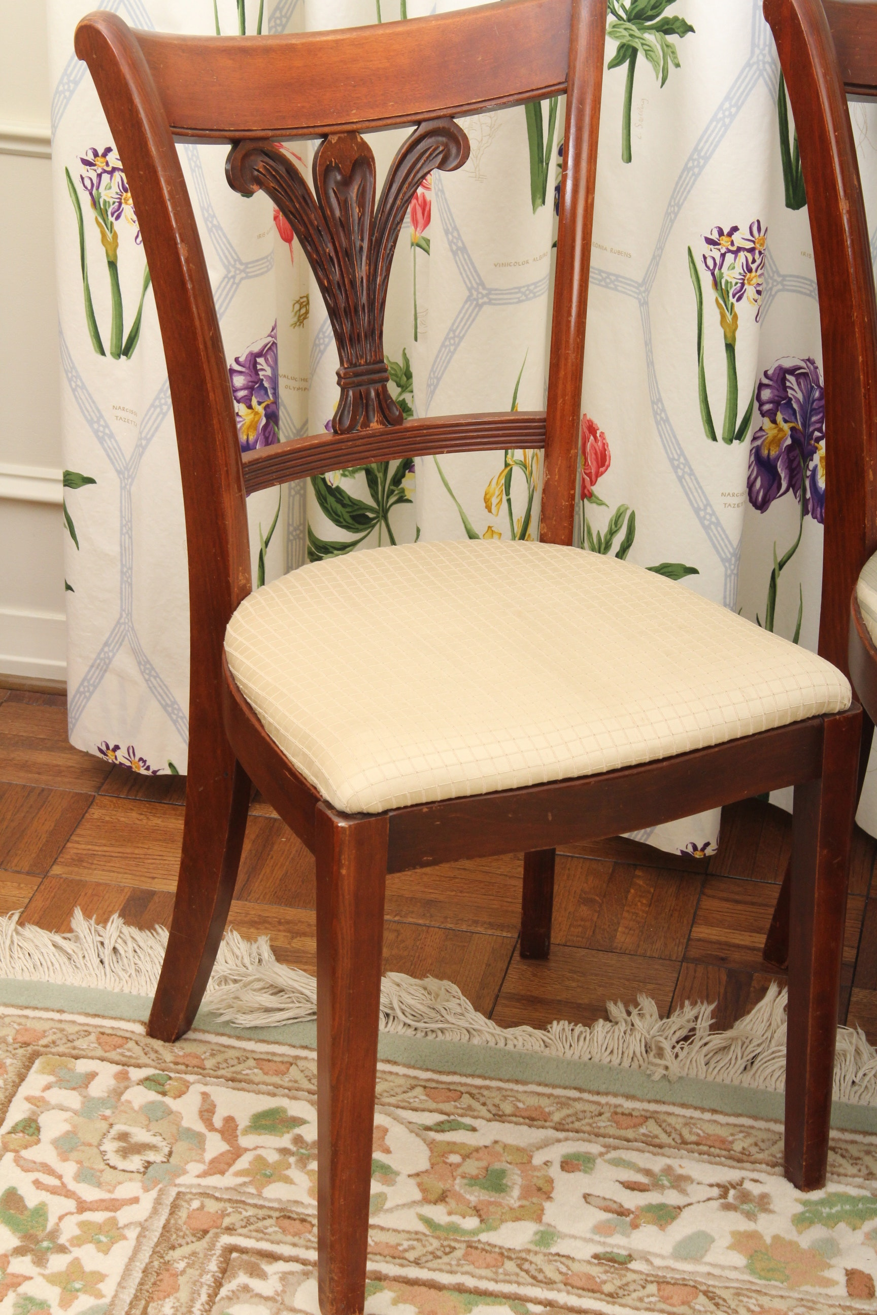 Dining Room Sets Columbus Ohio Duncan Phyfe Style Dining Room Table And Chairs Ebth
