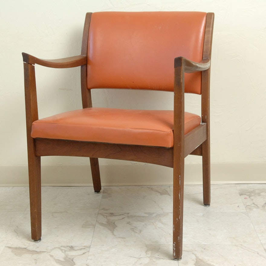 Magnificent Mid Century Modern Armchair By Johnson Machost Co Dining Chair Design Ideas Machostcouk