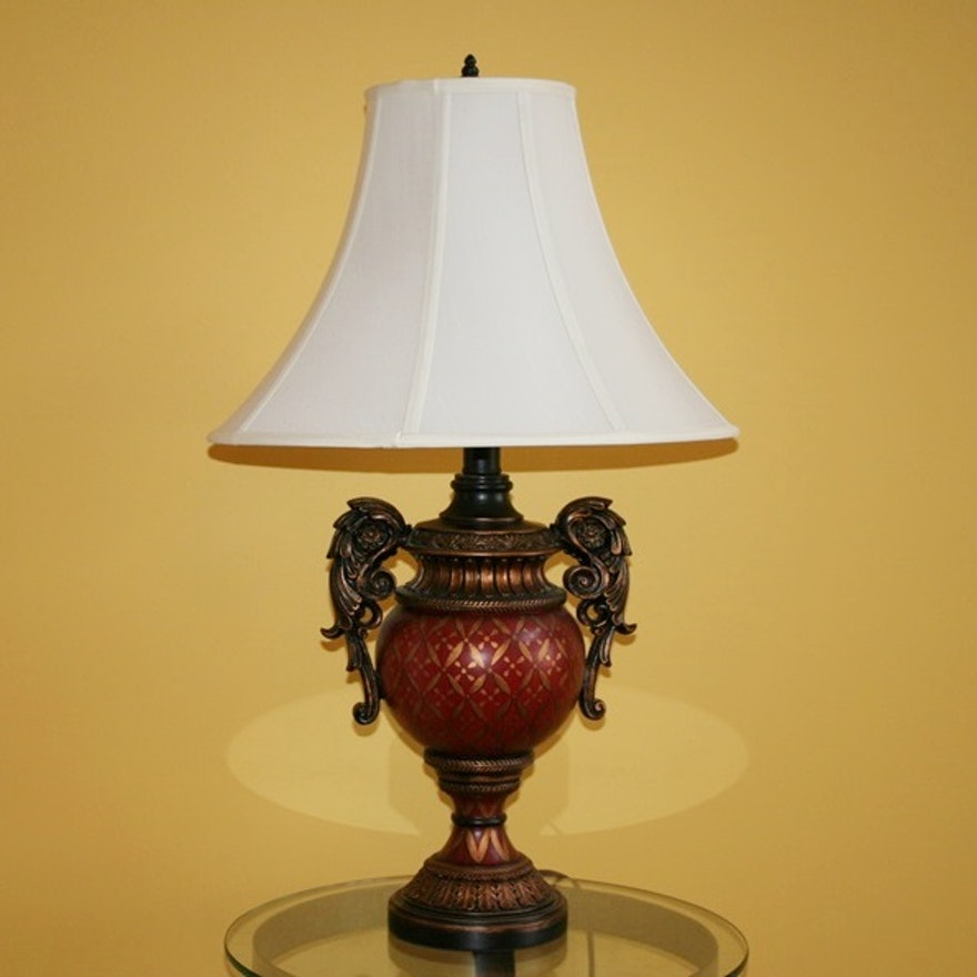 French provincial style table lamp ebth french provincial style table lamp aloadofball Images