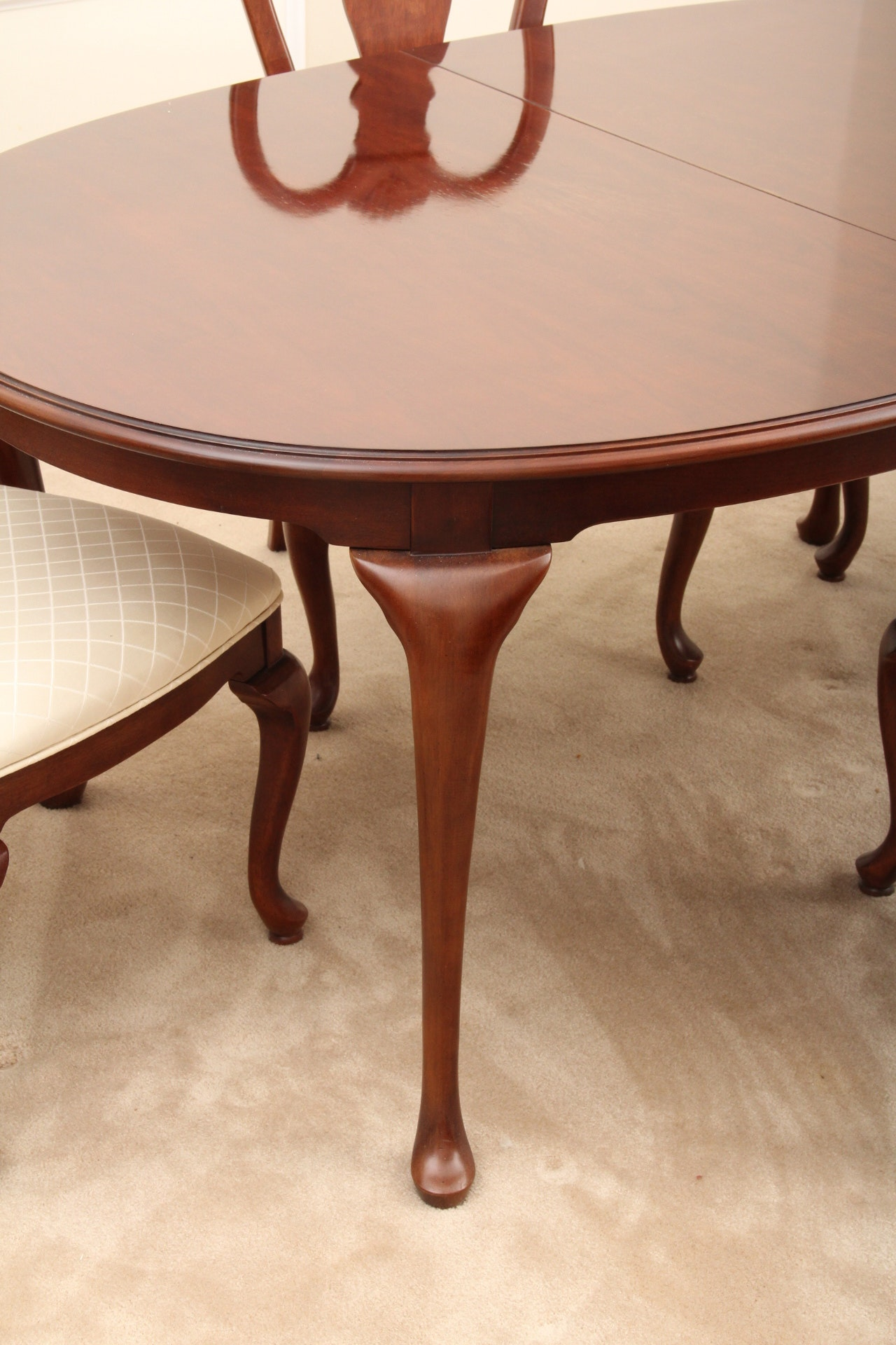 Elegant Bernhardt Dining Room Table and Chairs EBTH : IMG7997jpgixlibrb 11 from www.ebth.com size 587 x 880 jpeg 81kB