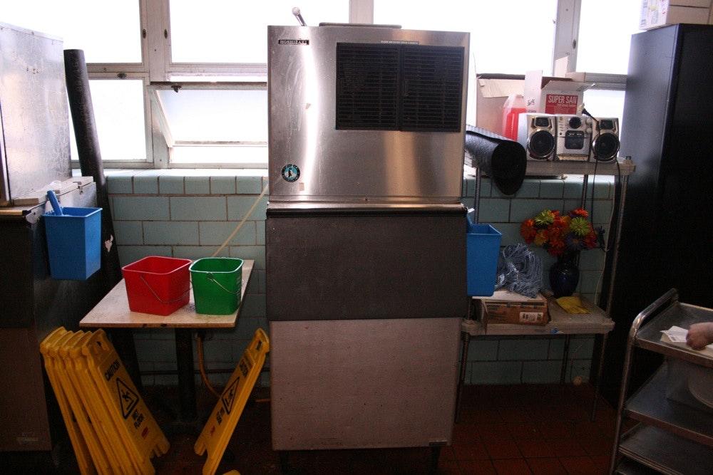 hoshizaki machine bin