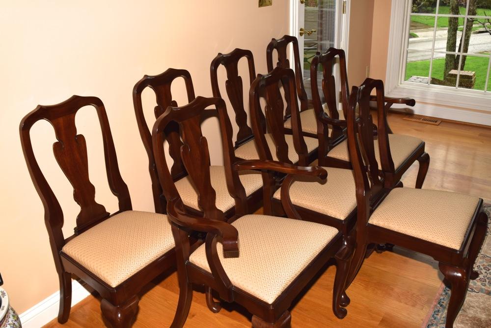 Henkel Harris Mahogany Dining Chairs : EBTH