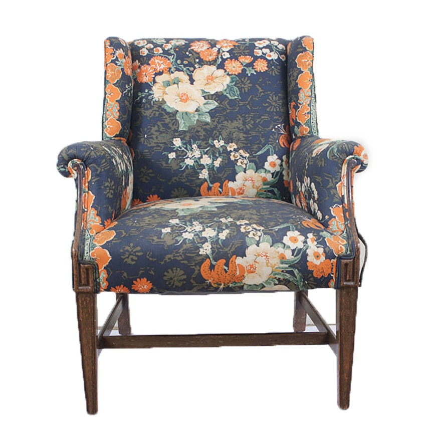 Antique Upholstered Club Chair Ebth,Best Places To Travel In November 2020 Usa