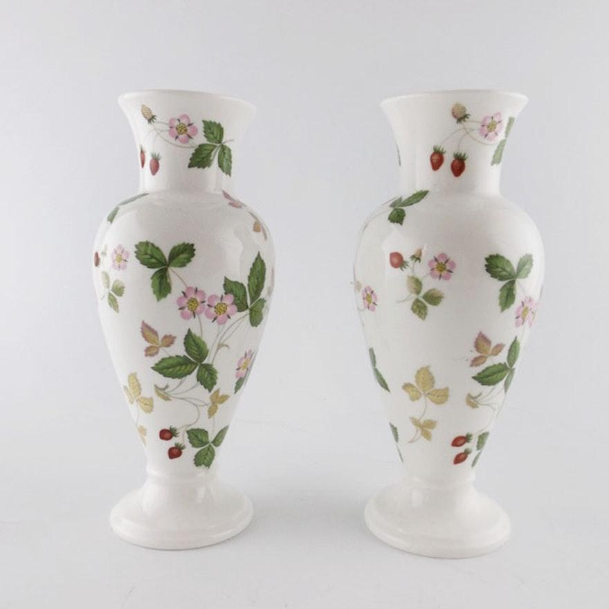 Wedgwood Bone China Vases Ebth