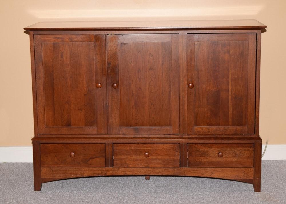 Exceptional Ethan Allen Media Storage Cabinet ...