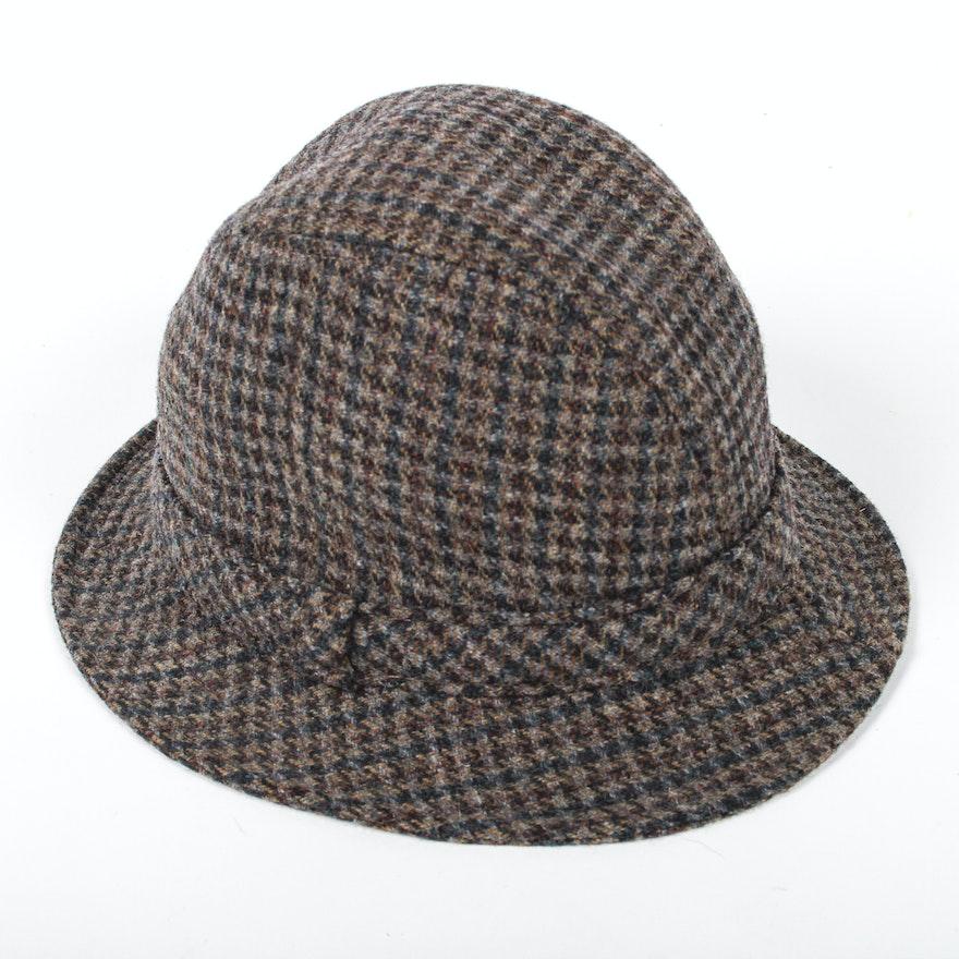 4726a652dc45b5 Vintage Pendleton Plaid Wool Hat : EBTH