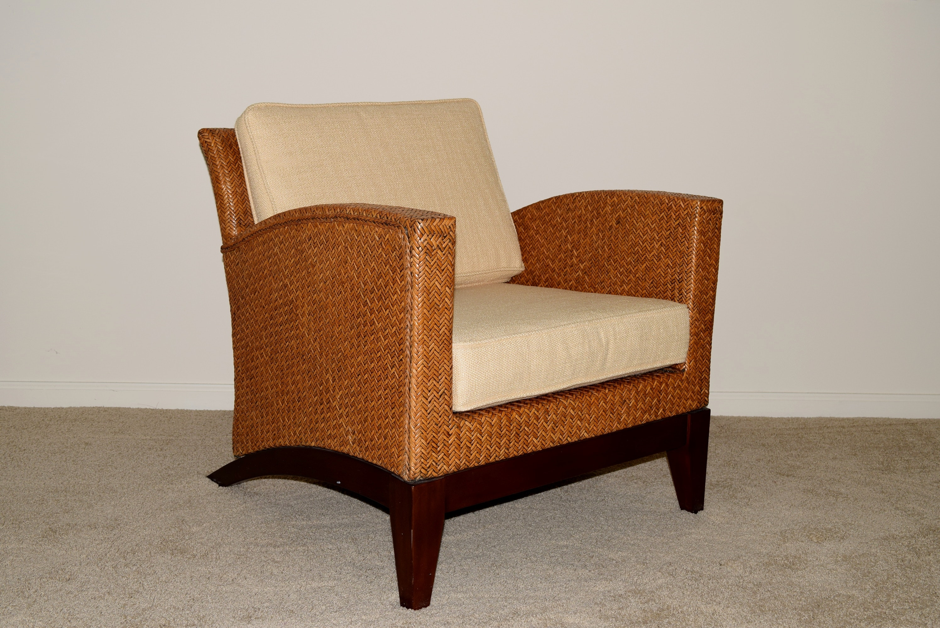 Modern Pier One Imports Rattan Accent Chair ...