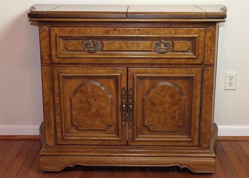Unique Furniture Makers Pecan Sideboard Server ...