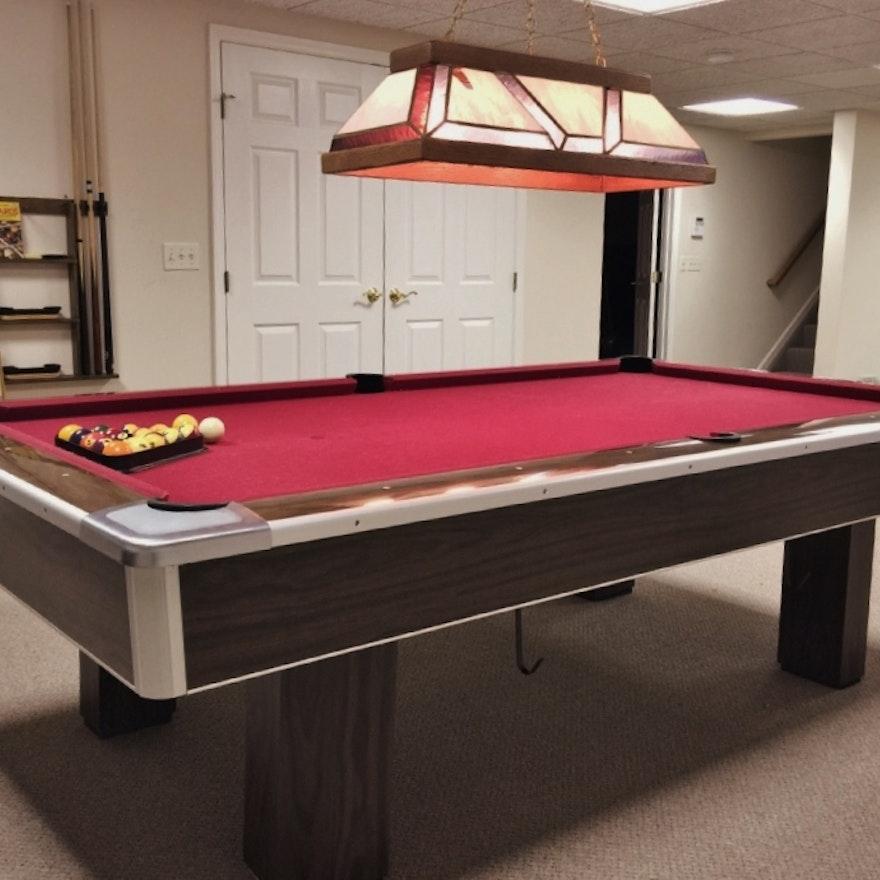 Brunswick Italian Slate Pool Table EBTH - Italian pool table