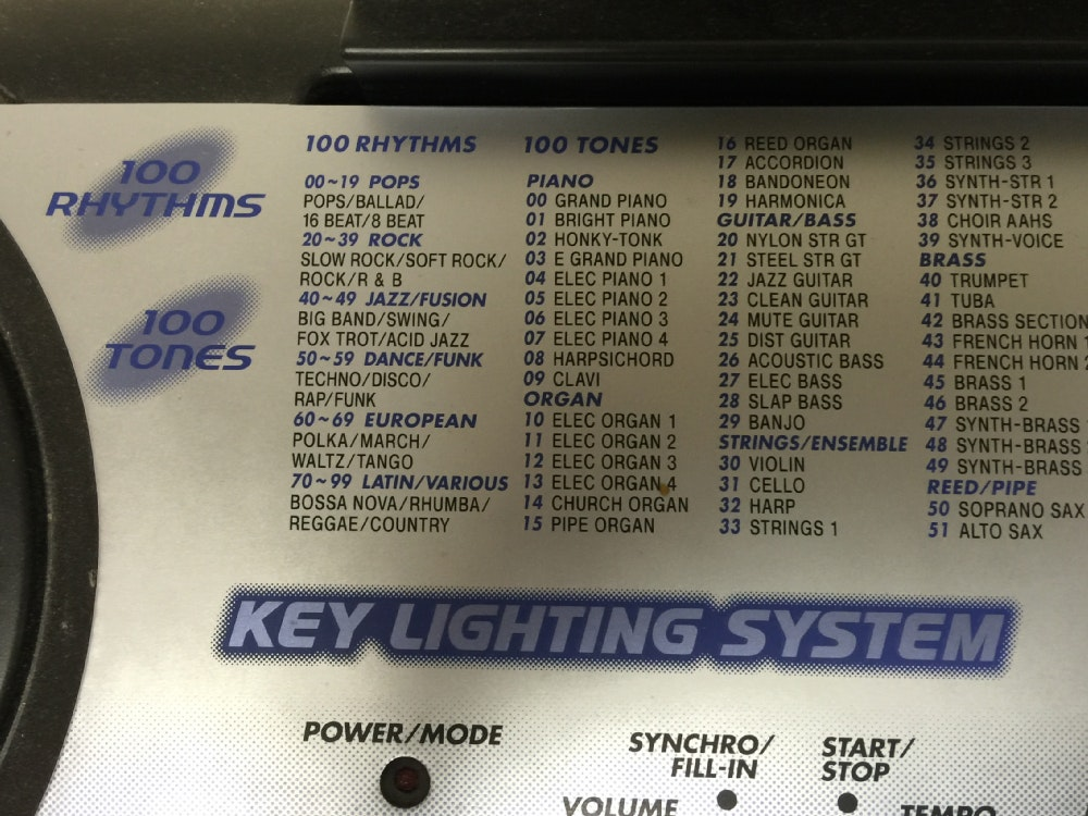 casio lk 110 keyboard manual