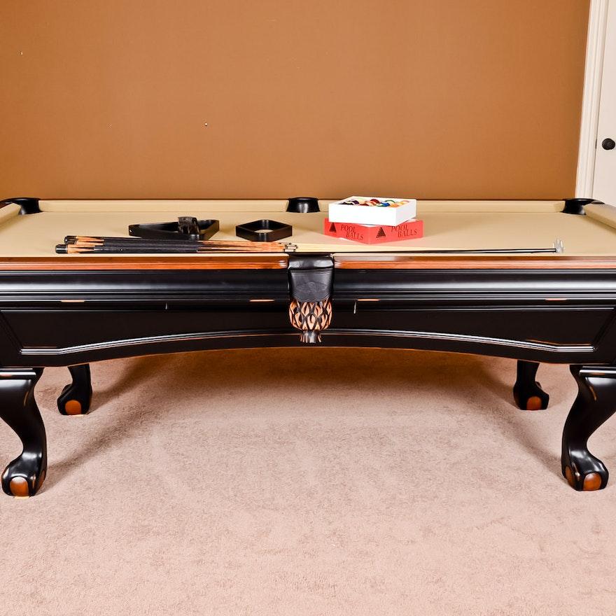Brunswick Pool Table EBTH - Brunswick greenbriar pool table