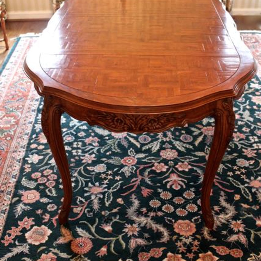 French Country Style Dining Table By Fremarc Designs EBTH - Fremarc dining table